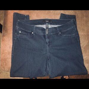 Torrid 3 Button Skinny Jeans